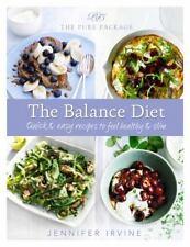 Pure Package The Balance Diet, Irvine, Jennifer, New Books