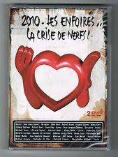 LES ENFOIRÉS - 2010 - LA CRISE DE NERFS ! - 2 DVD SET - NEUF NEW NEU