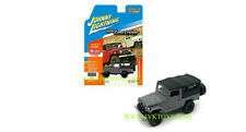 1980 Toyota Land Cruiser Black Soft Top 1/64 Scale By Johnny Lightning JLCP7030