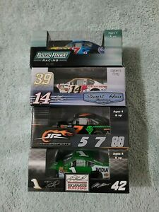Lot of 4 1/64 Action Cars Stewart McMurray Wise Kenseth