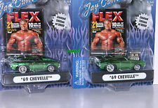 Muscle Machines Jay Cutler Set 1969 Chevrolet Chevelle 69 Chevy Hot Rods 1:64