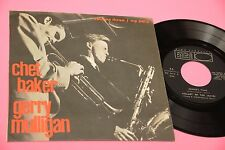 CHET BAKER EP 4 TRACKS ORIG ITALY '50 EX ! TOP JAZZ COLLECTORS