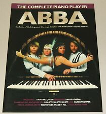 ABBA The Complete Piano Player Klavier Notenbuch NEU