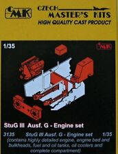 CMK 1/35 StuG. III Ausf. G Motor Set para Dragon Kit # 3135