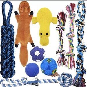 MLCINI Dog Toys Plush Dog Squeaky Toys Rope Dog Toy Dog Chew Toys Dog Toys
