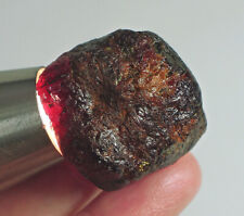 198Ct Natural Garnet Rhodolite Facet Rough Specimen YWE2782