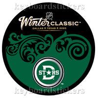 2020 NHL Winter Classic Hockey Souvenir Puck Dallas Stars - NEW