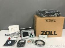Reconstruido Zoll E Serie bifásico 12 LEAD SPO2 NIBP etCo2 RITMO AED Bluetooth