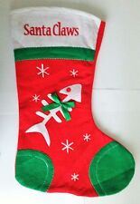 CAT CHRISTMAS STOCKING - Plenty of Room For Lots of Treats - Same Day Despatch