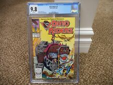 Dino Riders 1 cgc 9.8 1st appearance Marvel 1989 Tyco figure toy WHITE pgs MINT