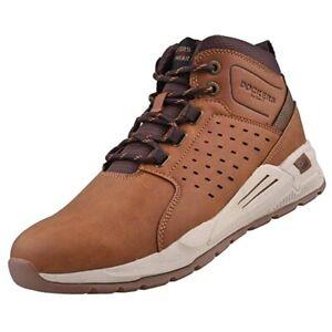 Dockers by Gerli Herren Hohe Sneaker 45AV001 Sneaker Mid Top Cognac