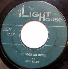 OTIS RIGHT 45 It Soon Be Done / Redemtion Story CALYPSO Gospel LIGHT HOUSE c1748