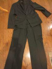 TAHARI  2 Pcs Pant Suit Pin Stripe Sz 10