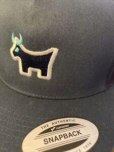 SCOTTY CAMERON 2021 Gallery TOUR BULL DOG Snapback Mesh Hat  *NEW Navy Blue *