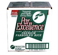 25 LBS Rice Enriched Premium PARBOILED LONG GRAIN WHITE RICE Or 4LB CALROSE RICE