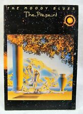 THE MOODY BLUES 1981 THE PRESENT CONCERT TOUR PROGRAM/POSTER