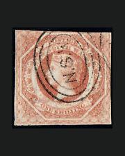 Vintage: Australia - New So Wales 1860 Usd Lt Canc Scott # 31 $ 140 Lot # 4877