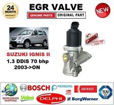 FOR SUZUKI IGNIS II 1.3 DDiS 70 bhp 2003-06 Electric EGR VALVE 2PIN D-SHAPE PLUG