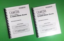LASER Printed Olympus C-5060 Camera Wide Zoom Full Camera 289 Page Owners Manual