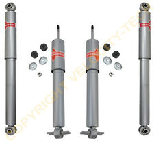 KYB 4 GAS-A-JUST 4 SHOCKS STRUTS 99-07 SILVERADO 1500 99-07 SIERRA 1500 2WD