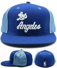 Los Angeles Lakers New Reebok Hardwood Classic Blue Era Fitted Hat Cap 7 3/4