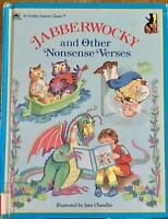 Jabberwocky and Other Nonsense Verses Jean Chandler HC 1986