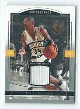 2003-04 Skybox LE Limited Edition Ray Allen GU JERSEY RELIC 201/399 SONICS