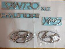 Hyundai Santro Xing Emblem High Quality Badge logo / Monogram Set of 6-Pcs