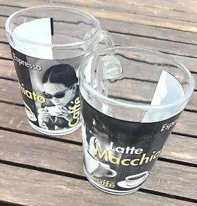 """Deux Tasses à Café """"Latte Macchiato"""""""