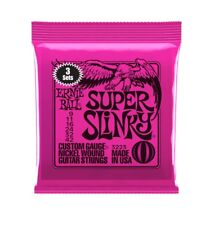 Ernie Ball Super Slinky Nickel Wound Strings, 3 Pack, 3223 (.009 - .042)