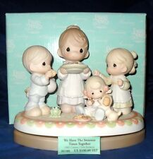 """PRECIOUS MOMENTS """"WE HAVE THE SWEETEST TIMES TOGETHER"""" CENTURY CIRCLE EXCLUSIVE"""