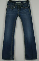 BKE Denim Stella Boot Cut Jeans 26x31.5 Measures 26 x 30.5 Thick Stitching