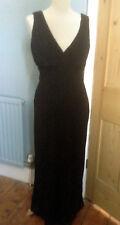 Beautiful polyester maxi dress by Wallis - size 12