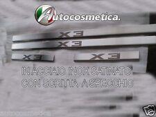 modanature 4 batticalcagno acciaio inox satinato/cromo BMW X3 2003-2010