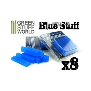 Blue Stuff Easy Mould Making Bars Green Stuff World Craft Supplies 8 x Bar Pack
