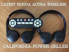 2015 2016 2017 (2) ACURA HONDA MDX Pilot Odyssey Wireless Headphone FACTORY OEM