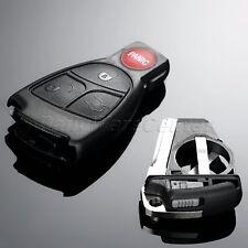 3+1 Button Remote Key Shell Case Fob for Mercedes-Benz CL500 E320 SL500 S430