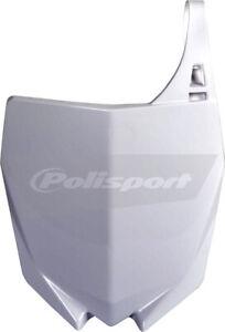 Polisport Avant Numéro Plaque Blanc Pour Yamaha YZ 125 250 15-2021 8678400001