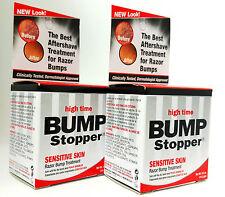 2 X Bump Stopper High Time Sensitive Skin Razor Bump Treatment 14.2 gm
