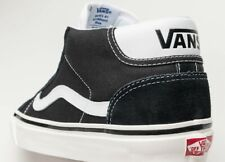 Vans Off the Wall Mid Skool 37 DX Anaheim Factory Suede Black Shoes Mens 6.5