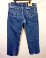 vtg 70s 80s Levis 505 Orange Tab USA made Denim Jeans 20505-0217 regular 45 X 30