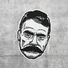 The Earth like the Sun like the Air vinyl decal Emiliano Zapata sticker car