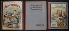 Les Poupées couturière de 1905 avec chromolithographien-MOTIFS de coupe-J. Lutz