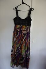 Wish Maxi Dress Size 12, Silk Skirt