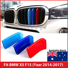 M-Tech Kidney Grill Grille 3 Colour Cover Clips for BMW X5 F15 Year 2014-2017