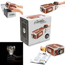 New Ones Portable 2017 Cinema DIY Mobile Projector Projector Phone Smartphone