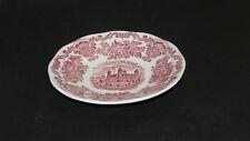 Wedgwood Enoch England Royal Homes of Britain rot Untertasse 14,5 cm ( Kaffeet.)