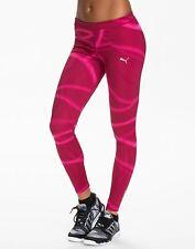 Puma Women's RCVR Power Tight Leggings - Pink/Purple - New