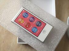 NEW Apple iPod Nano 7th Generation  (16 GB) 90 DAY WARRANTY SILVER FAST SHIPPING