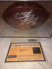 Jeremy Shockey Autographed Official Wilson NFL Football Steiner Sports COA